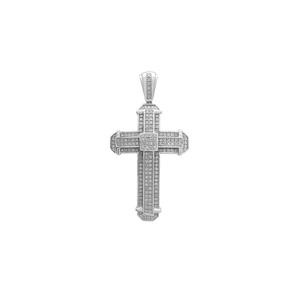 Diamond Pave Cross Pendant (10K) Popular Jewelry Νέα Υόρκη