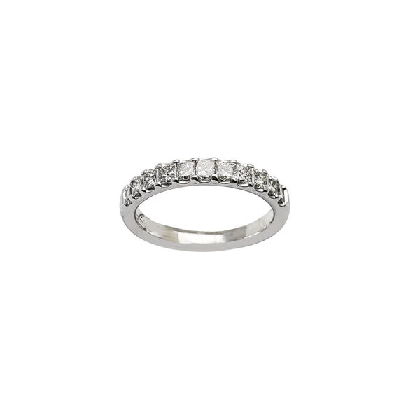 Diamond Radiant Setting Ring (14K) Popular Jewelry New York