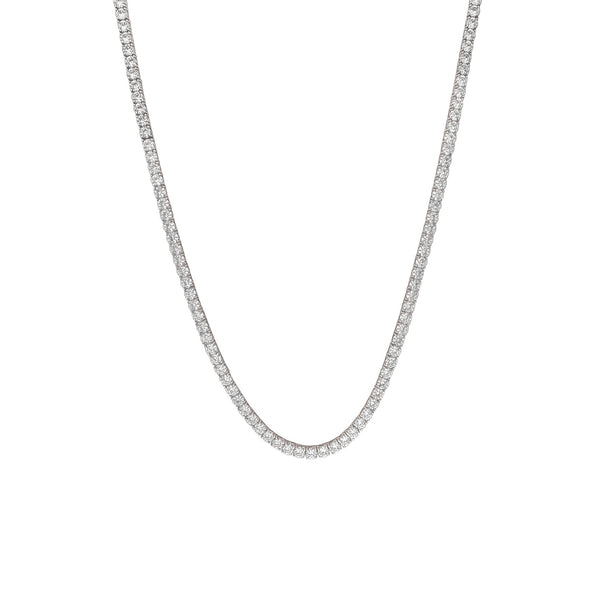 Diamond Tennis Necklace (14K)