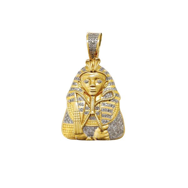 Diamond Pharaoh Pendant (10K)