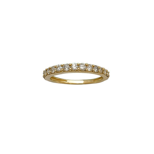 Diamond Wedding Band Ring (10K) Popular Jewelry New York