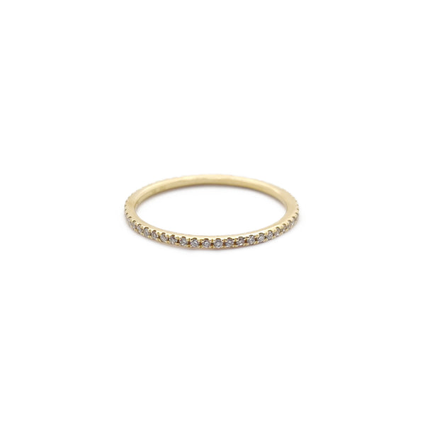 Diamond Eternity Wedding Band (14K) Popular Jewelry Nýja Jórvík