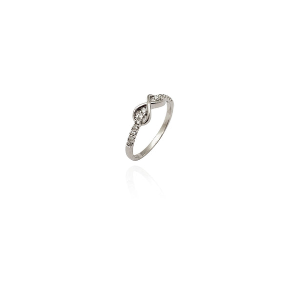 Diamond Infinity Ring (14K) New York Popular Jewelry