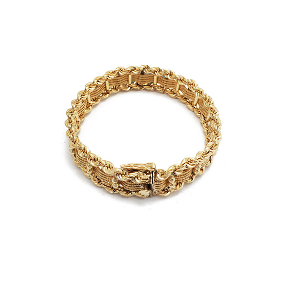 Double-Rope Lady Bracelet (14K)