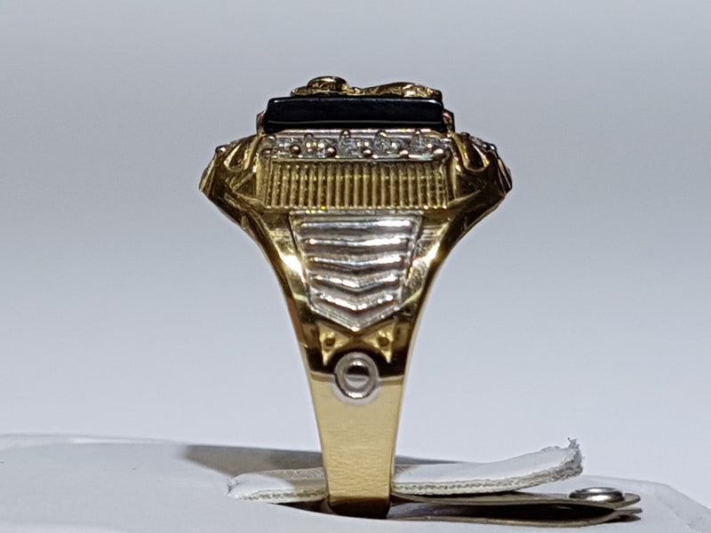 products/Eagle-Ring-Onyx-CZ-Cubic-Zirconium-Zirconia-Prong-Frame-14K-14-Karat-Yellow-Side.jpg
