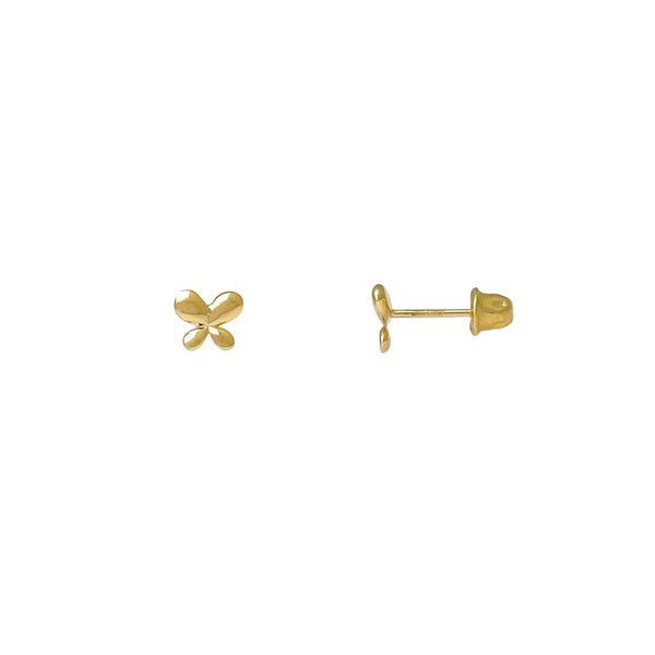 Fairy Butterfly Stud Earrings (14K) Popular Jewelry New York