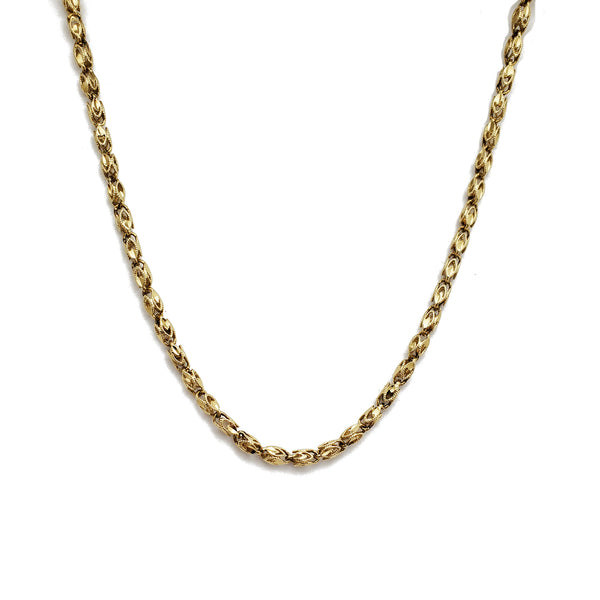 Fancy Locust Necklace (14K)