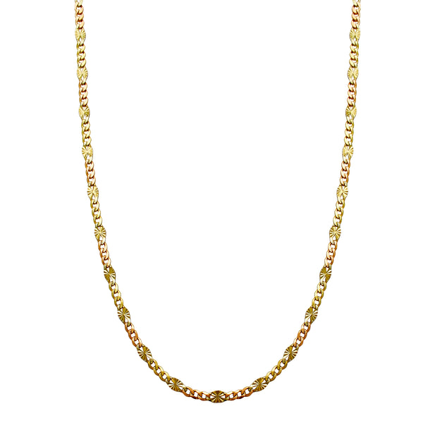 Figaro Valentino Chain (14K) Popular Jewelry New York