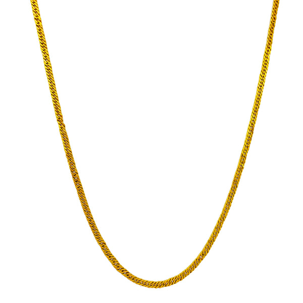 Flat Miami Cuban Chain (24K)