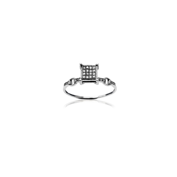 Floating Bridge Setting Engagement Ring (10K) Popular Jewelry New York