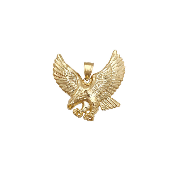 Flying Eagle Pendant (14K) Popular Jewelry New York