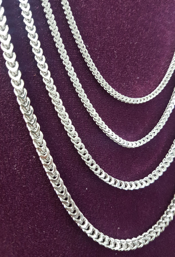 Franco Chain Sterling Silver - Popular Jewelry