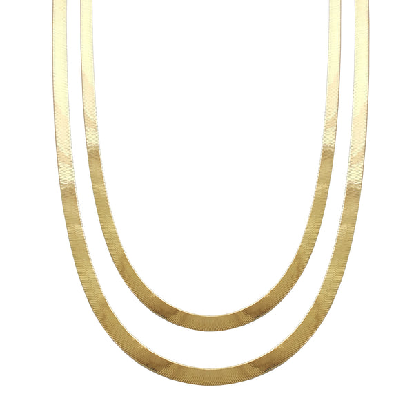 Herringbone Chain (14K) Popular Jewelry New York