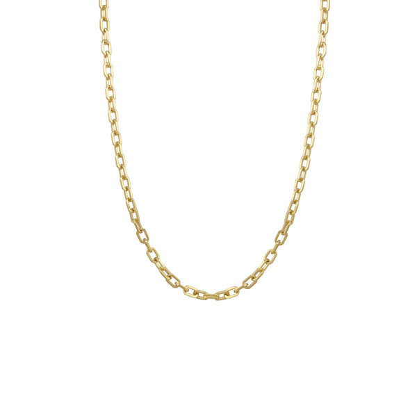 Hollow Cable Chain 20 inches (14K) Popular Jewelry New York