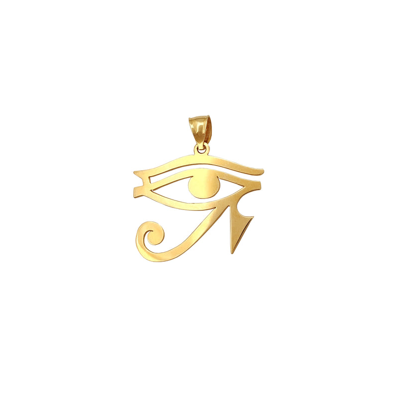 Eyes of Horus Pendant (14K) Popular Jewelry New York