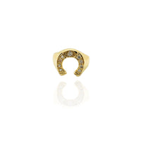 Diamond Horseshoe Ring (14K)