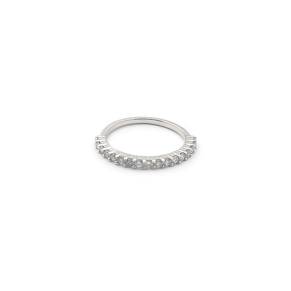 Half Eternity Diamond Ring (14K)
