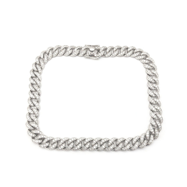 VS Diamond Miami Cuban Chain (14K)