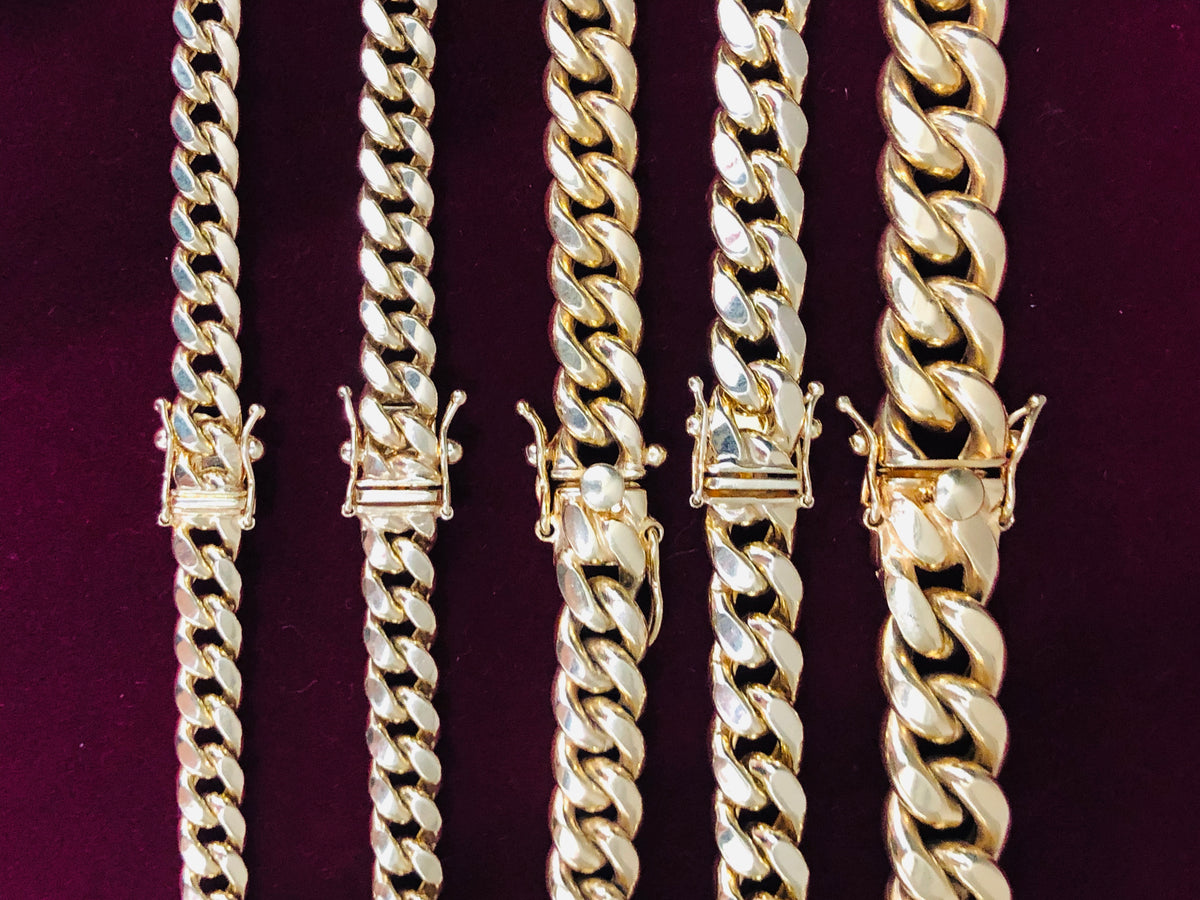 403144900f5ee Lightweight Miami Cuban Link Chain - Box Lock (10K) – Popular Jewelry