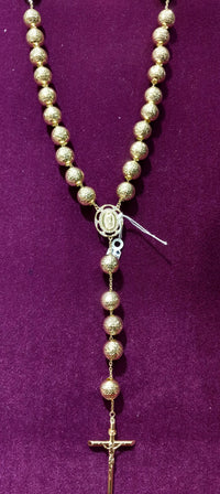 Rosary 14K Yellow Gold - Popular Jewelry