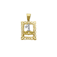 "Filigree maziko ""# 1 Mom"" ​​Pendant (14K) Popular Jewelry New York"