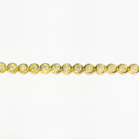 Round Cut Diamond Tennis Bracelet (14K)