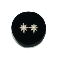 Belen Star Diamond Earring (14K)