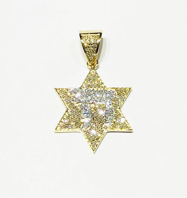 Chai David Star Pendant (14K)