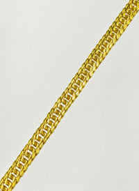 Wide Miami Cuban Bracelet (24K)