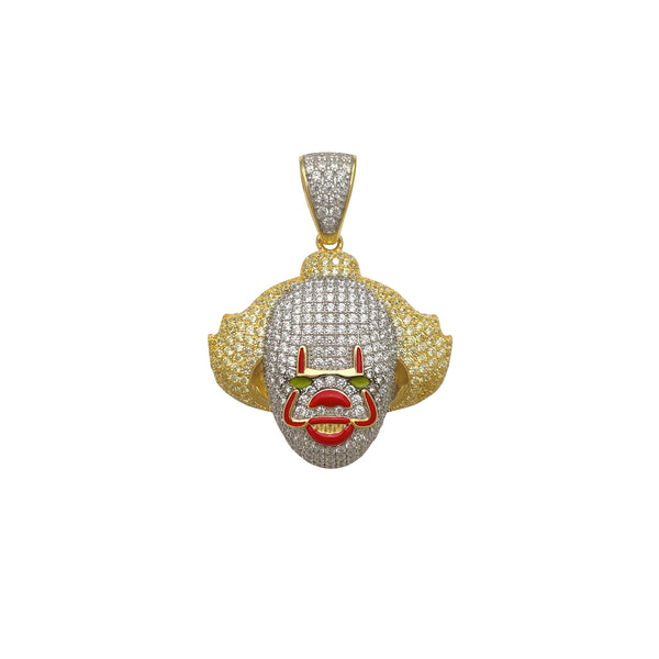 Iced-Out IT Pennywise riipus (hopea) Popular Jewelry New York