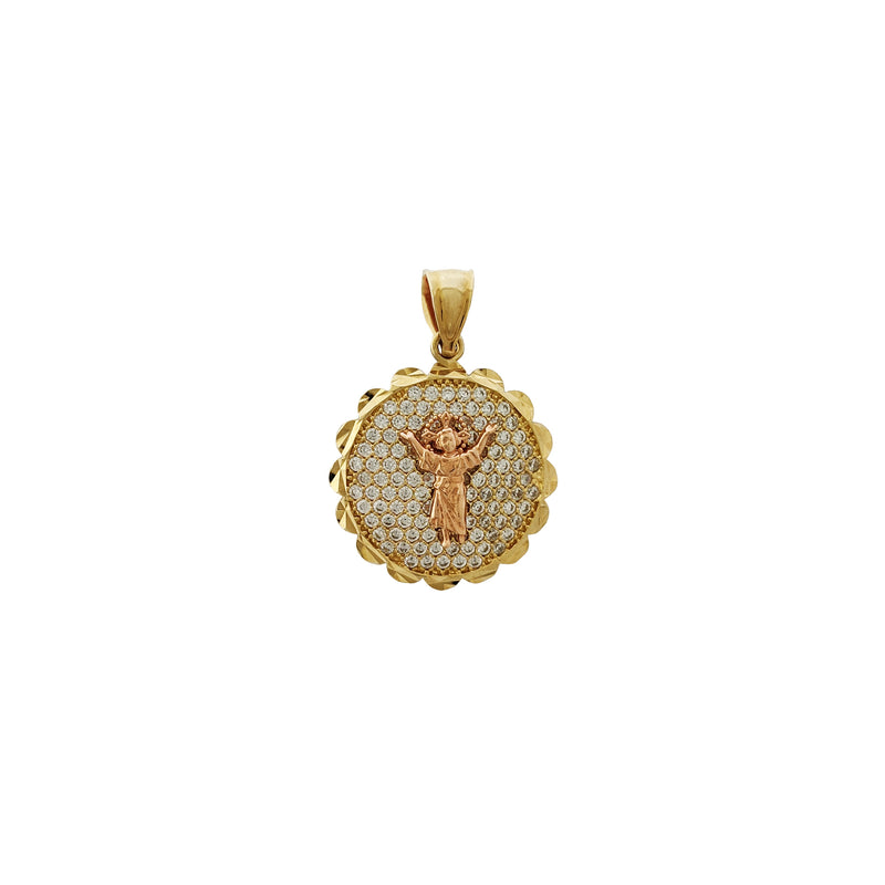 Icy Baby Jesus Pendant (14K) Popular Jewelry New York