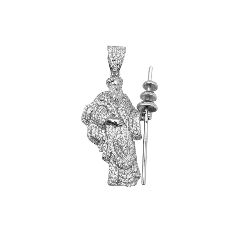 Icy Orisha Obatala Pendant (Silver) Popular Jewelry New York