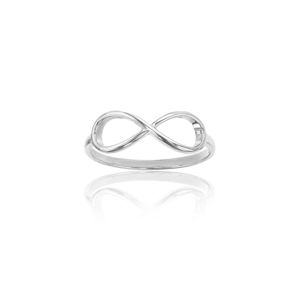 Infinity Sideways Ring (Silver) Popular Jewelry New York