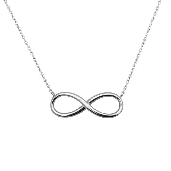 Colar da infinidade (14K) Popular Jewelry New York