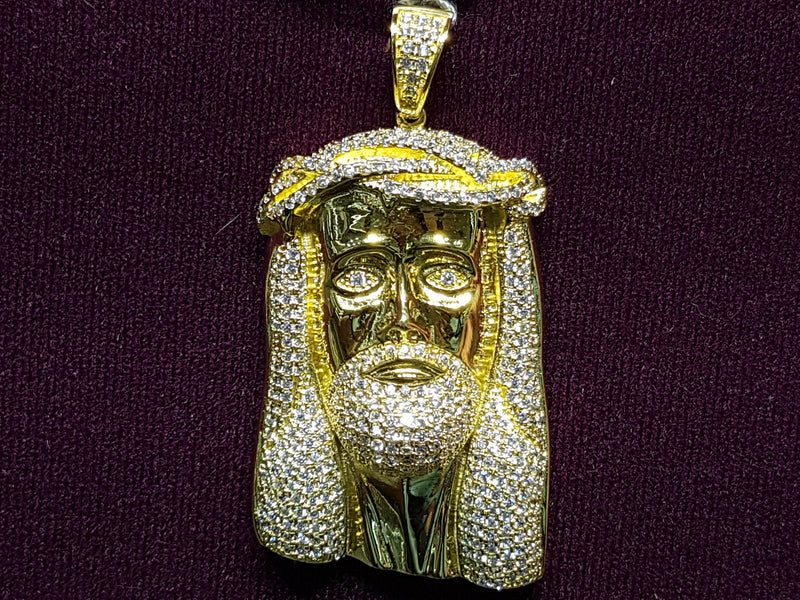 products/Jesus-Head-Icy-Iced-Pendant-CZ-Cubic-Zirconium-Zirconia-Micropave-Yellow-sterling-Silver.jpg