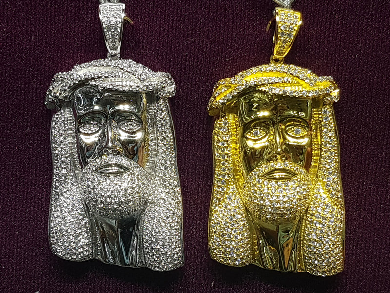 products/Jesus-Head-Icy-Iced-Pendant-CZ-Micropave-Color-sterling-Silver-MultipleCubic-Zirconium-Zirconia.jpg