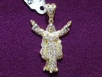 Iced-Out Jesus Messiah Pendant 14K - Popular Jewelry