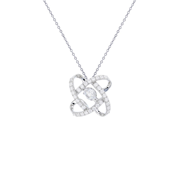 Knot Necklace (Silver)