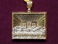 The Last Supper Pendant 10K - Popular Jewelry