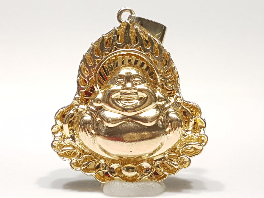 Laughing buddha pendant popular jewelry aloadofball Image collections