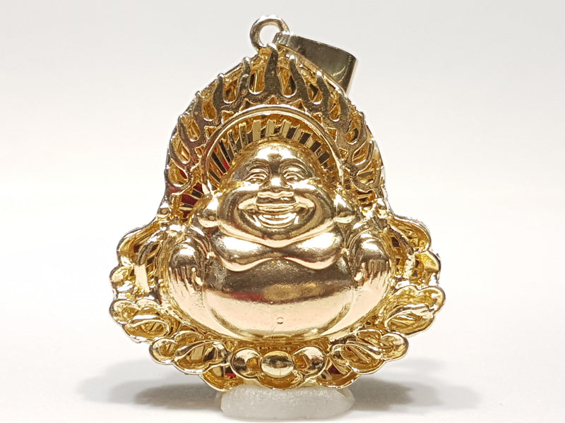 Laughing Buddha Pendant - Lucky Diamond 恆福珠寶金行 New York City 169 Canal Street 10013 Jewelry store Playboi Charlie Chinatown @luckydiamondny 2124311180