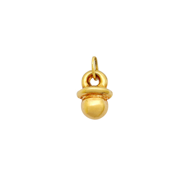 Lightweight Baby Boob Pendant (14K) Popular Jewelry New York