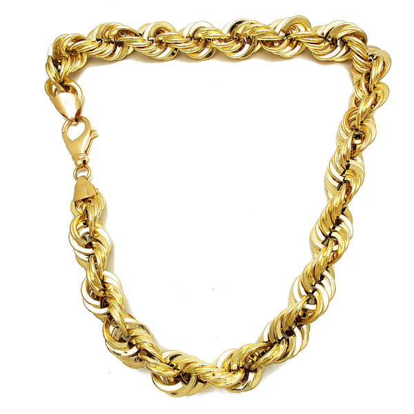 Lightweight Rope Chain (14K) Popular Jewelry New York