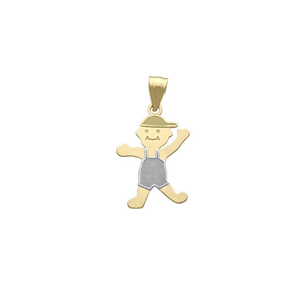 Little Boy Pendant (14K) Popular Jewelry New York