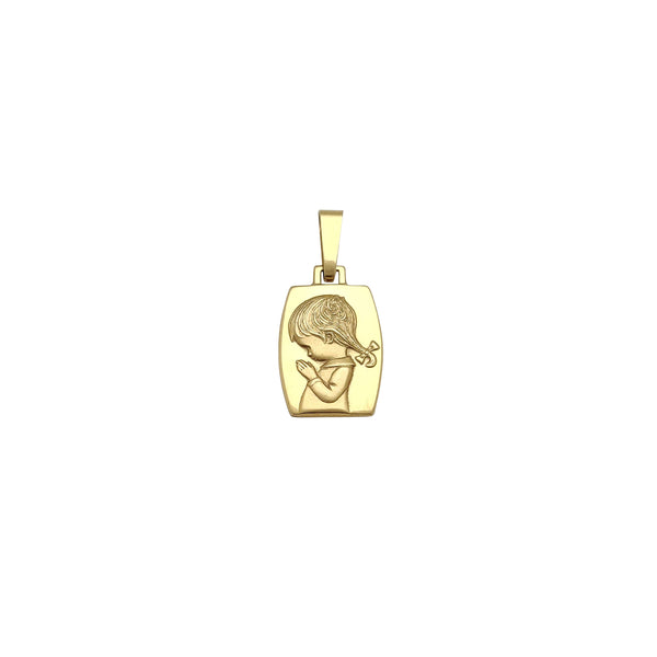 Little Girl Praying Anheng (14K) Popular Jewelry New York