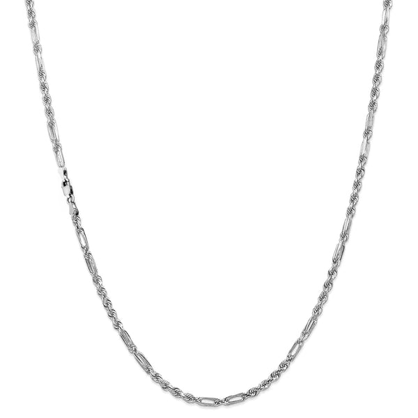 Milano Figa-Rope Chain (Silver) Popular Jewelry New York