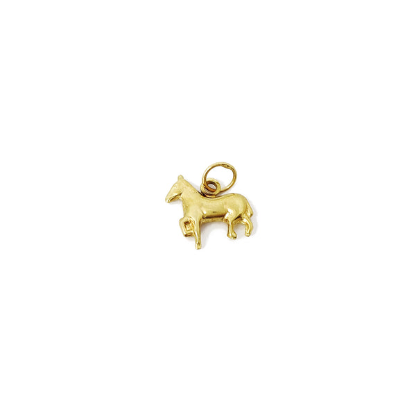 Mini Horse Pendant (14K) Popular Jewelry New York