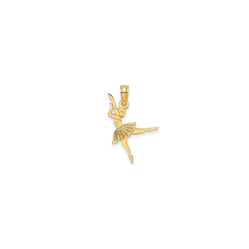 Miniature Ballerina Pendant (14K) Popular Jewelry New York