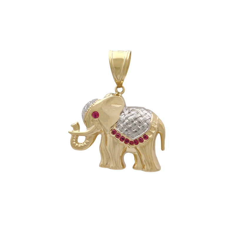 Ornament Elephant Pendant (14K) Popular Jewelry New York