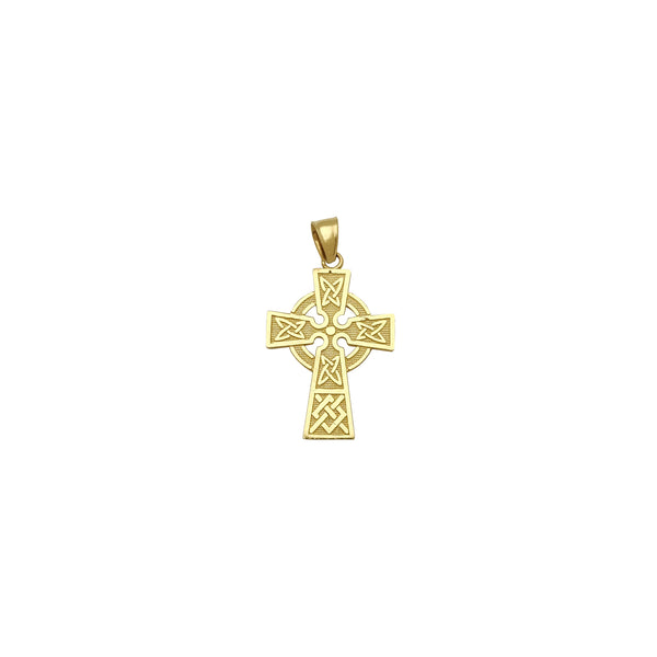 Pandantiv cruce ortodoxă (14 K) Popular Jewelry New York
